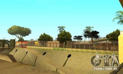 Cerca ao redor do Groove Sreet para GTA San Andreas quinto tela