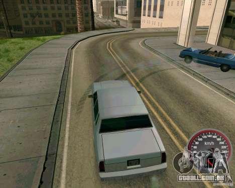 Velocímetro novo para GTA San Andreas segunda tela