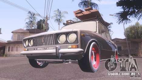 VAZ 2106 Tuning estilo Rat para GTA San Andreas