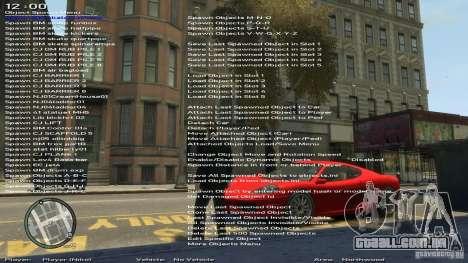 Simples Trainer versão 6.3 para 1.0.6.0, 1.0.7.0 para GTA 4 quinto tela