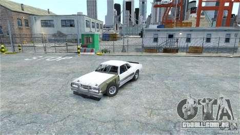 Jupiter Eagleray MK5 v.2 para GTA 4 esquerda vista