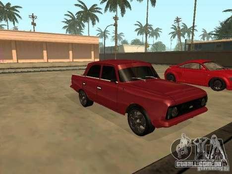 IE AZLK 412 para GTA San Andreas esquerda vista