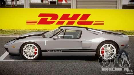 Ford GT 2006 v1.0 para GTA 4 traseira esquerda vista