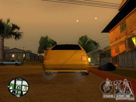 VAZ-2112 carro Tuning para vista lateral GTA San Andreas