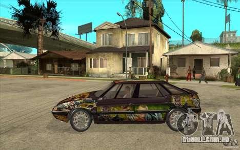 Citroen XM Custom para GTA San Andreas esquerda vista
