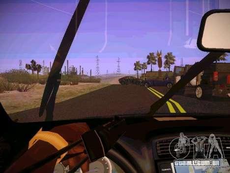 Lexus I SF para GTA San Andreas vista interior