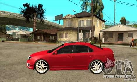 Ford Fusion Hybrid para GTA San Andreas esquerda vista