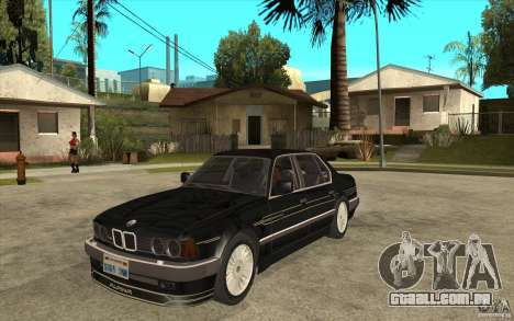 BMW E32 7-er Alpina B12 para GTA San Andreas