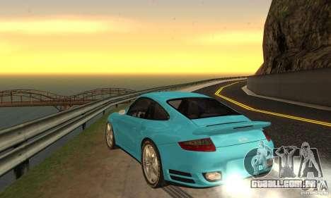 Color Correction para GTA San Andreas segunda tela