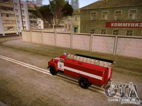 Mangueira de gás 30 53 fogo para GTA San Andreas esquerda vista