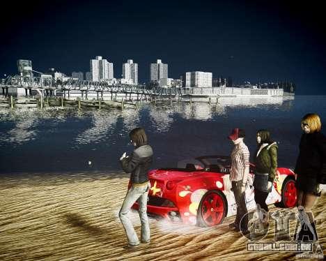Ferrari California DC Texture para GTA 4 vista direita