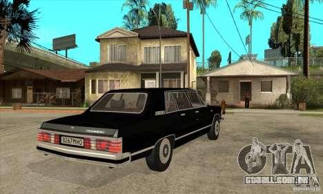GAZ 14 Chaika para GTA San Andreas vista direita