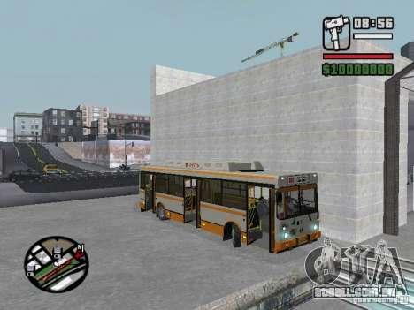 LIAZ 5283.70 para GTA San Andreas vista interior