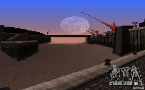 ENBSeries para v2 128-512 MB de placa de vídeo para GTA San Andreas terceira tela