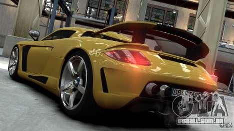 Porsche Carrera GT Gemballa Mirage EPM para GTA 4 esquerda vista