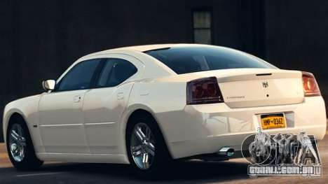 Dodge Charger RT 2007 v.2.0 para GTA 4 esquerda vista