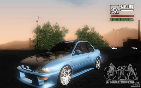 Subaru Impreza 22B para GTA San Andreas