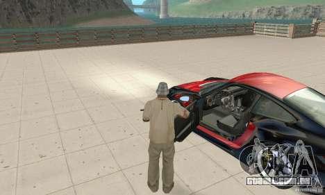 Porsche 911 GT2 NFS Undercover para GTA San Andreas vista traseira
