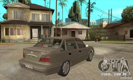 Daewoo Nexia Dohc 2009 para GTA San Andreas vista direita