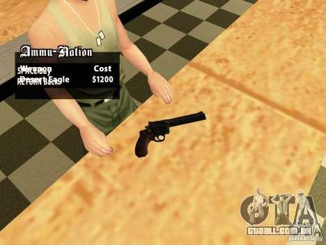 44.Magnum para GTA San Andreas segunda tela