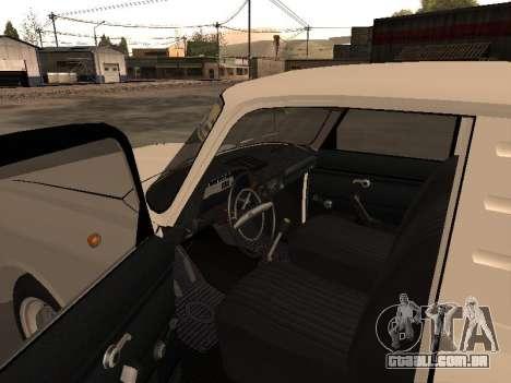 IZH 2715 para GTA San Andreas vista traseira