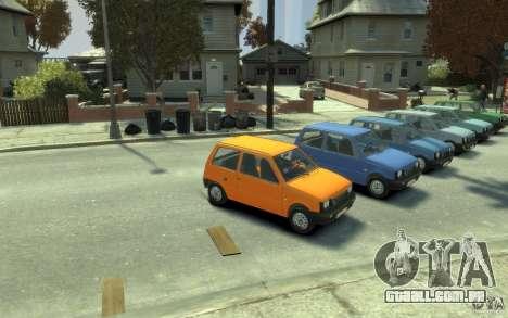 1111 OKA para GTA 4 vista de volta