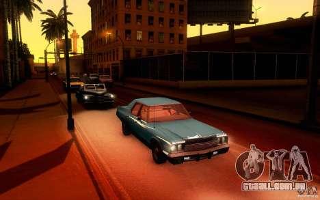 Dodge Monaco para GTA San Andreas vista traseira