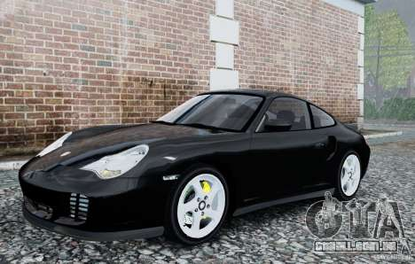 Porsche 911 Turbo S para GTA 4 esquerda vista
