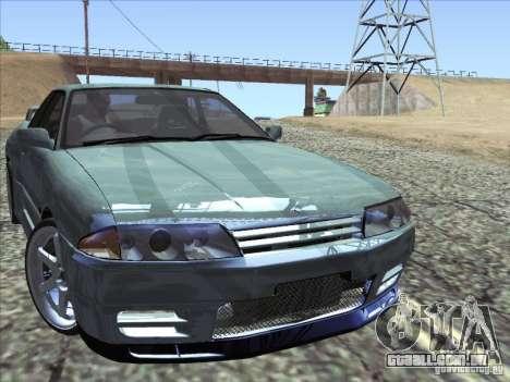 Nissan Skyline GT-R 32 1993 para GTA San Andreas vista traseira