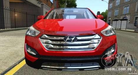 Hyundai Santa Fe Sport 2013 para GTA 4 vista lateral