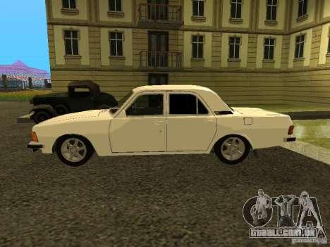 GAZ Volga de 3102 para GTA San Andreas traseira esquerda vista