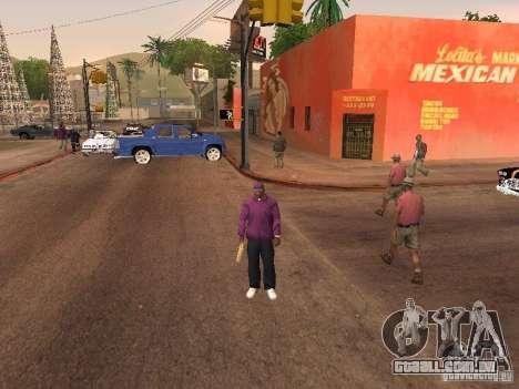 Ballas 4 Life para GTA San Andreas nono tela