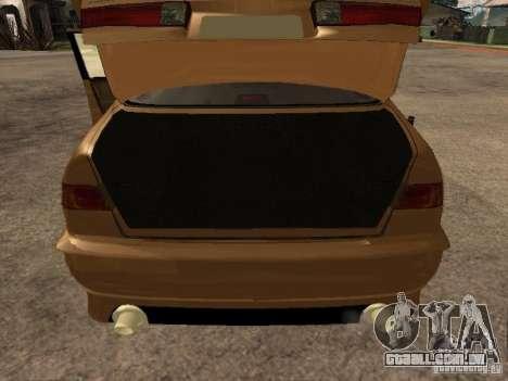 Toyota Camry 2002 TRD para GTA San Andreas vista traseira