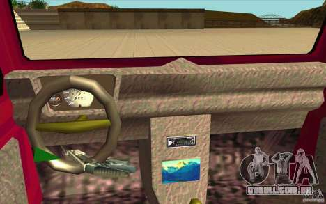 Land Rover Defender 90SW para GTA San Andreas vista direita