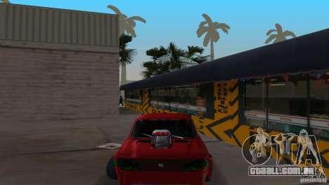 Zastava 110 GT para GTA Vice City vista traseira esquerda
