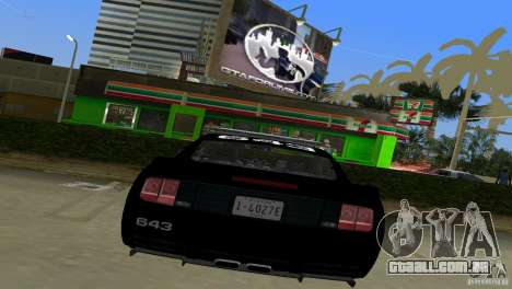 Saleen S281 Barricade 2007 para GTA Vice City vista direita