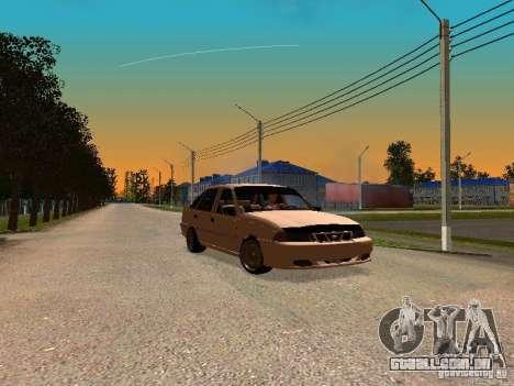 Daewoo Nexia para GTA San Andreas vista traseira