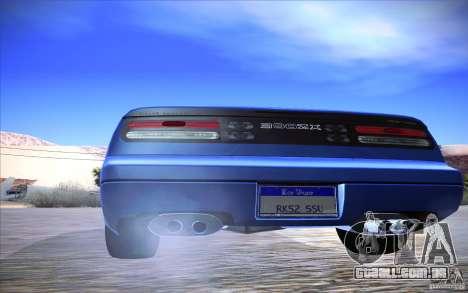 Nissan 300ZX Twin Turbo para GTA San Andreas vista interior