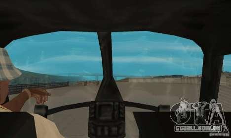 Nova Seaspar para GTA San Andreas vista traseira