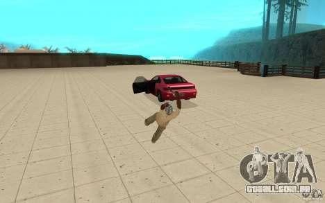 Nova queda para GTA San Andreas por diante tela