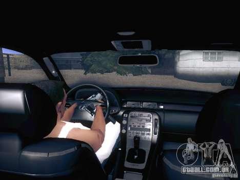 Lexus SC300 - Stock para GTA San Andreas vista traseira