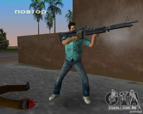 O novo M-60 para GTA Vice City