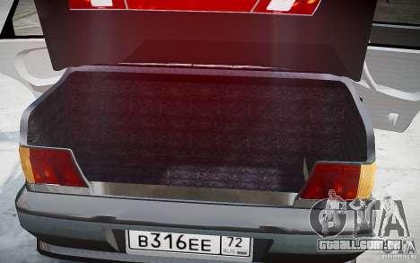 VAZ 2115 v 1.0 para GTA 4 interior