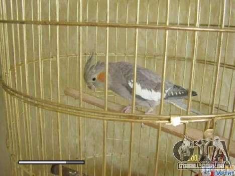 Beta de papagaios papagaio de tela de inicializa para GTA San Andreas nono tela