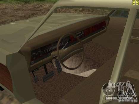 Chrysler Town and Country 1967 para GTA San Andreas vista traseira