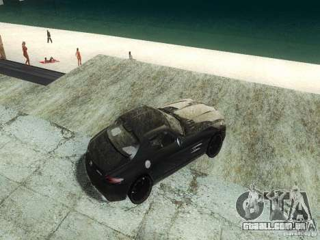ENBSeries Beta para GTA San Andreas quinto tela