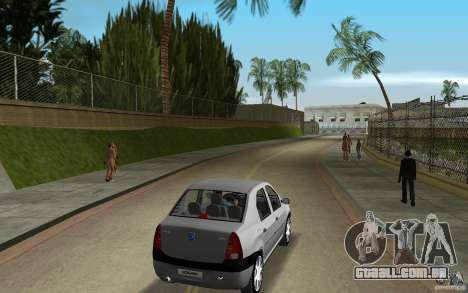 Dacia Logan 1.6 MPI para GTA Vice City