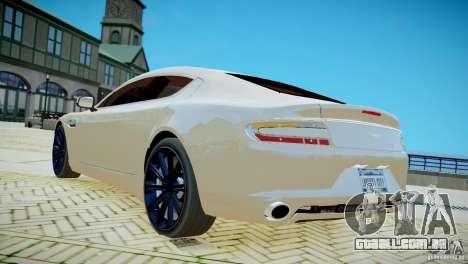 Aston Martin Rapide para GTA 4 esquerda vista