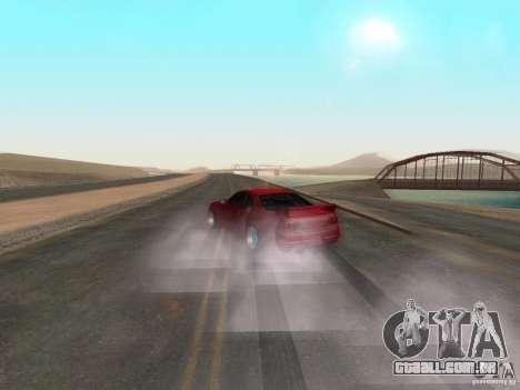 Fumaça e novas água de texturas para GTA San Andreas terceira tela