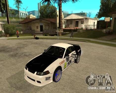 2003 Ford Mustang GT Street Drag para GTA San Andreas